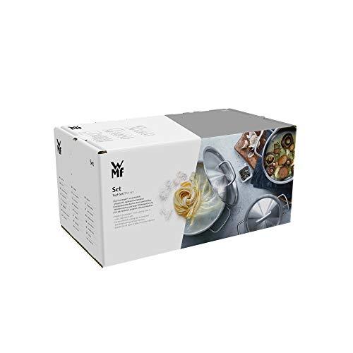WMF Topf-Set 5-teilig Intension Schüttrand Glasdeckel Cromargan® Edelstahl poliert induktionsgeeignet spülmaschinengeeignet - 10