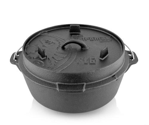 Petromax Feuertopf ft6 (Dutch Oven) (mit Standfüssen) - 2