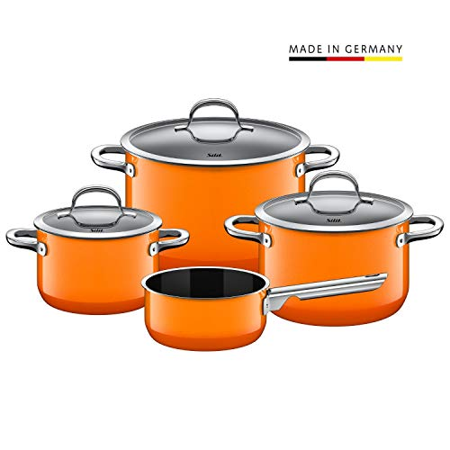 Silit Silargan Topf-Set 4-teilig Passion Orange