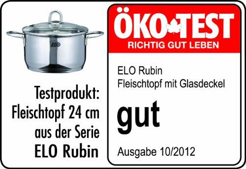 ELO Kochtopfset Rubin 5-teilig Edelstahl - 3