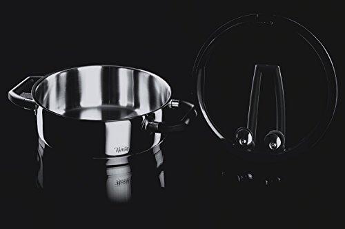 elo 30005 kochtopfset black pearl 4 teilig topf dunkel offen kochtopfset test. Black Bedroom Furniture Sets. Home Design Ideas